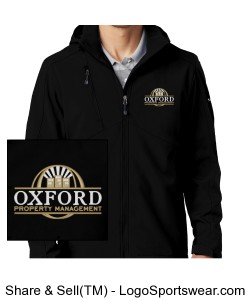 Eddie Bauer Mens Hooded Soft Shell Parka with OPM Logo Design Zoom